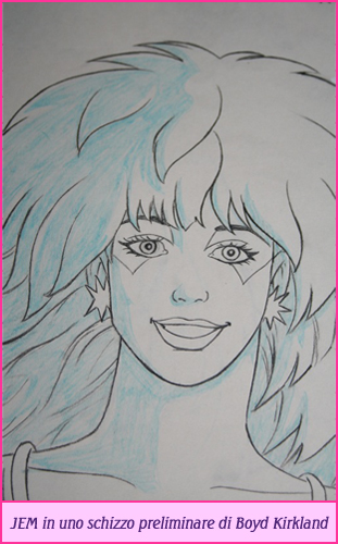 Jem cartoon cartone